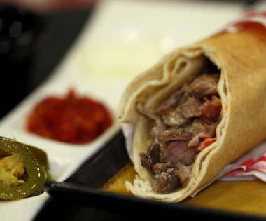Shawarma Close Up