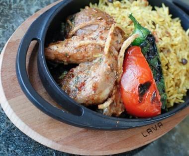Oriental Ottoman Flavor